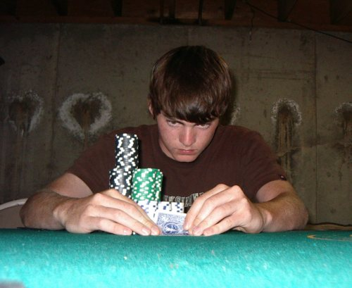 Me during my poker days back in college.