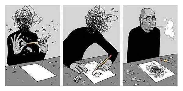 anxiety-art-writing